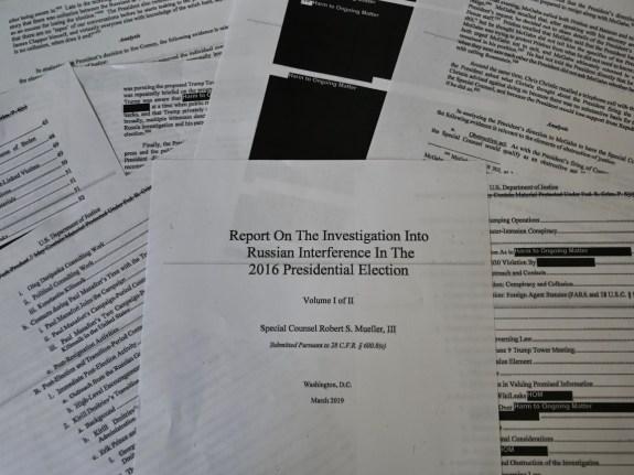 TOPSHOT-US-POLITICS-INVESTIGATION-MUELLER-JUSTICE-REPORT