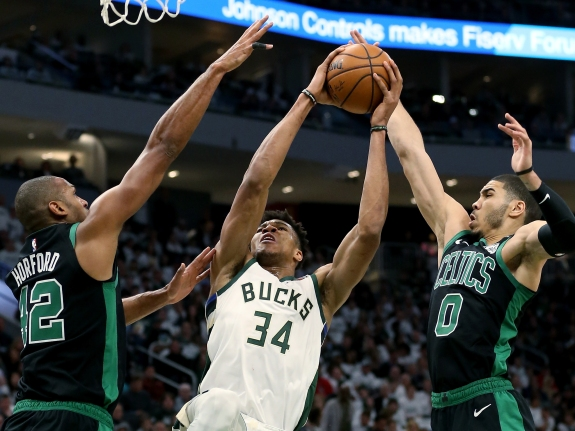 Boston Celtics v Milwaukee Bucks – Game One