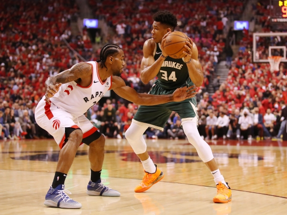 Milwaukee Bucks v Toronto Raptors – Game Three
