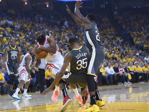 Houston Rockets v Golden State Warriors – Game Two