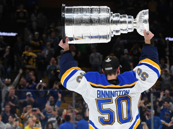 The Blues Erase A Half Century Of Hockey Anguish In One Night