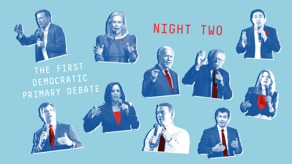 What Went Down On Night Two Of The First Democratic Debates