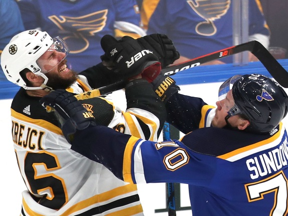 2019 Stanley Cup Finals: Boston Bruins Vs. St. Louis Blues At Enterprise Center