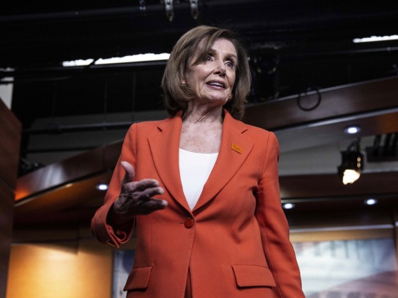 House Leader Pelosi Holds Weekly News Conference