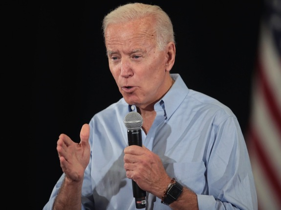 Former Vice President Biden Campaigns In Iowa