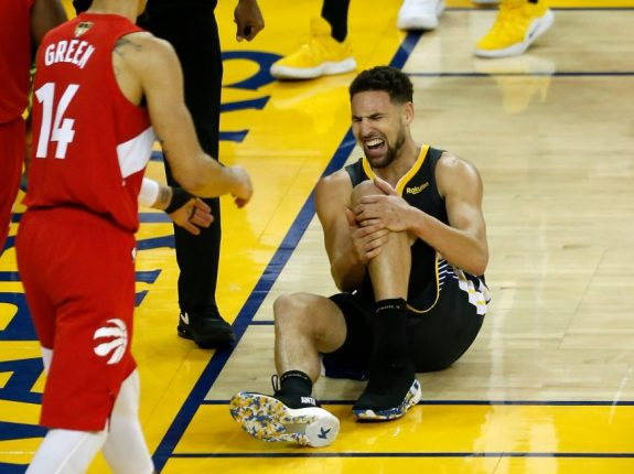 This NBA Offseason Was Already Going To Be Chaotic. Then Klay Tore His ACL.