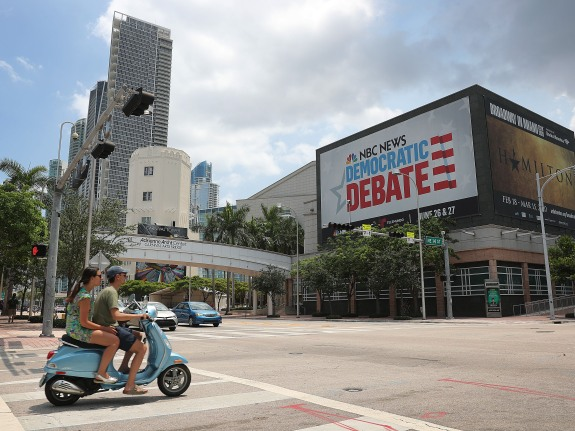 Miami Prepares For First Democratic Debates Of The 2020 Presidential Election
