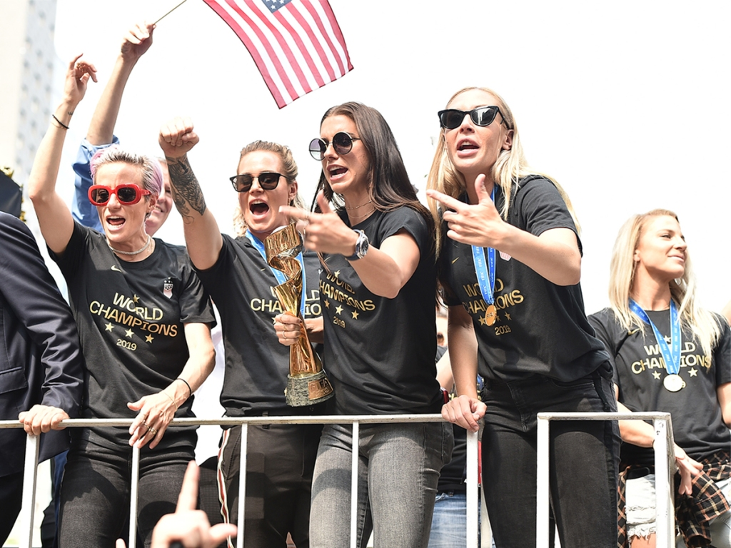 142aec95 The NYC Ticker-Tape Parade Belongs To The U.S. Women's Soccer Team ...