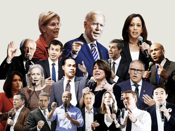 A Midsummer Overview Of The Democratic Field