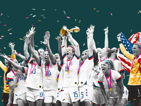 The U.S. Women Made Soccer History In Wildly Entertaining Fashion