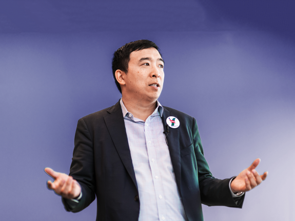 How Weird Is Andrew Yang's Tech Policy? Only About As Weird As America's.