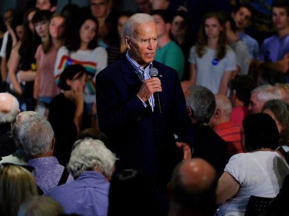 Former Vice President Joe Biden discusses healthcare during