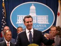 California Governor Gavin Newsom And Attorney General Becerra Announce Legal Action On Immigration