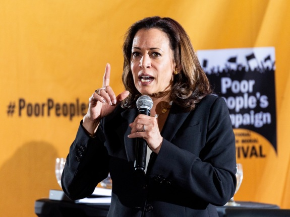 U.S. Senator Kamala Harris (D-CA) speaking at the Poor