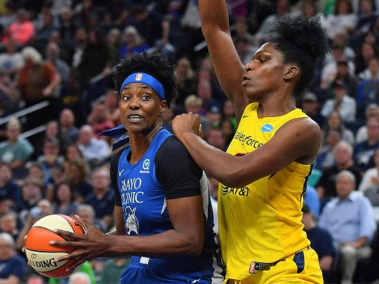 Being A WNBA Center Is Harder Than Ever. So Sylvia Fowles Adapted Her Game.