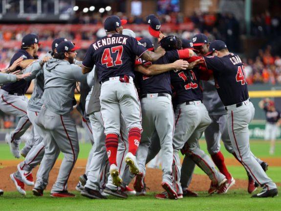 2019 World Series Game 7 – Washington Nationals v. Houston Astros