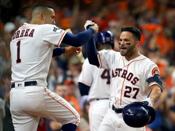 Divisional Series – Tampa Bay Rays v Houston Astros – Game Five