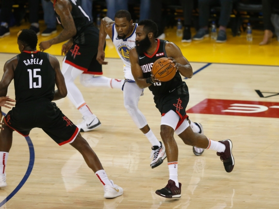 Houston Rockets v Golden State Warriors – Game Five