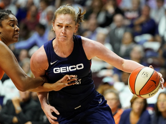 WNBA: Finals-Washington Mystics at Connecticut Sun