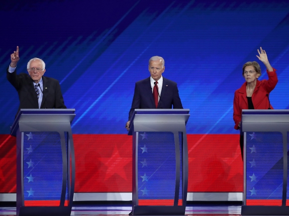 Democratic Presidential Candidates Participate In Third Debate In Houston