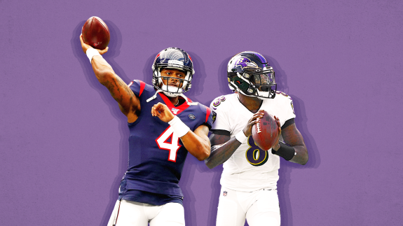 Deshaun Watson And Lamar Jackson Were College Rivals. Now They're Taking It To The Pros.