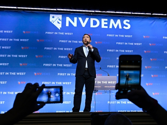 "Democratic Presidential Candidates Attend ""First In The West"" Event In Las Vegas"