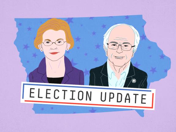 Election Update: Why The Warren-Sanders Fight May Help Warren's Chances In Iowa