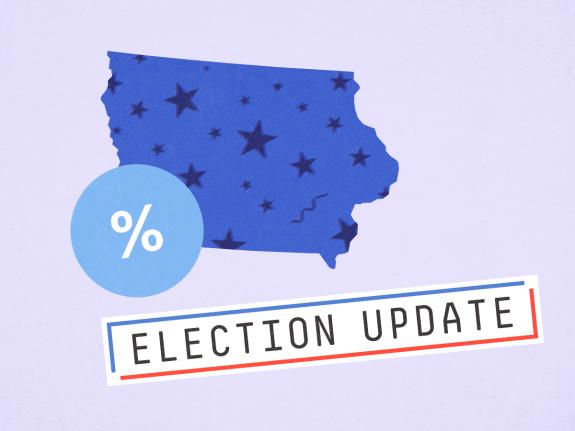 Election Update: Sanders Now Leads A Wide-Open Iowa Race