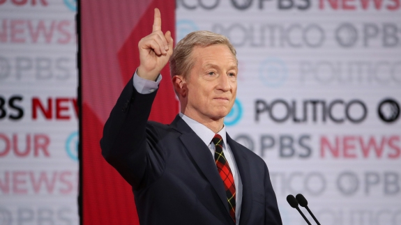 Who's In — Steyer! — And Who's Out Of The January Debate 1