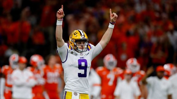 LSU Delivered A Little Piece Of History