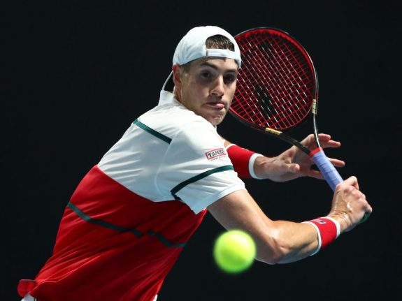 John Isner Is Usually Cold In January And February