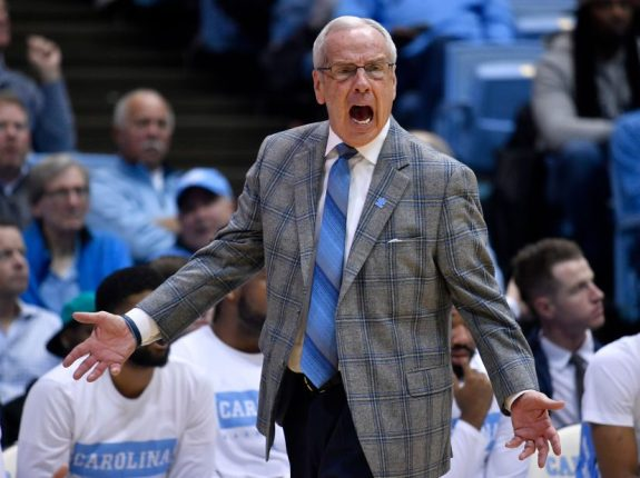 North Carolina Men's Basketball Is Off The Rails