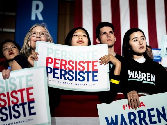 2020 Democratic Presidential candidate Senator Elizabeth Warren