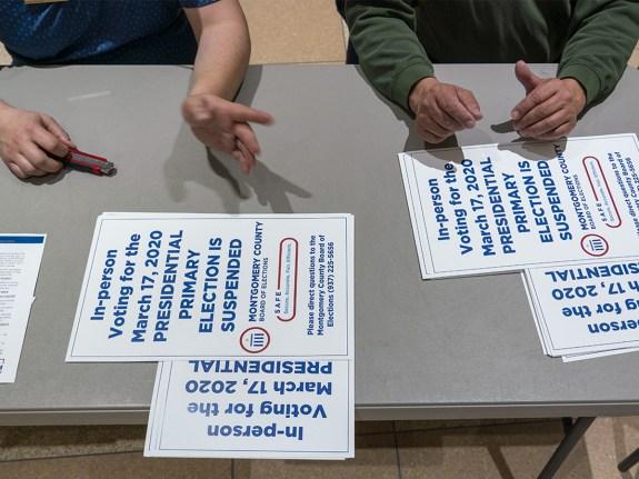 Ohio Seeks To Extend Voting As Virus Puts Primaries In Chaos