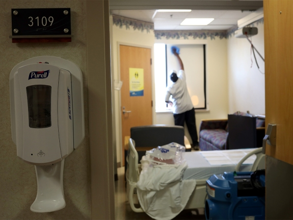 Maryland's Medstar St. Mary's Prepares For Influx Of Coronavirus Patients