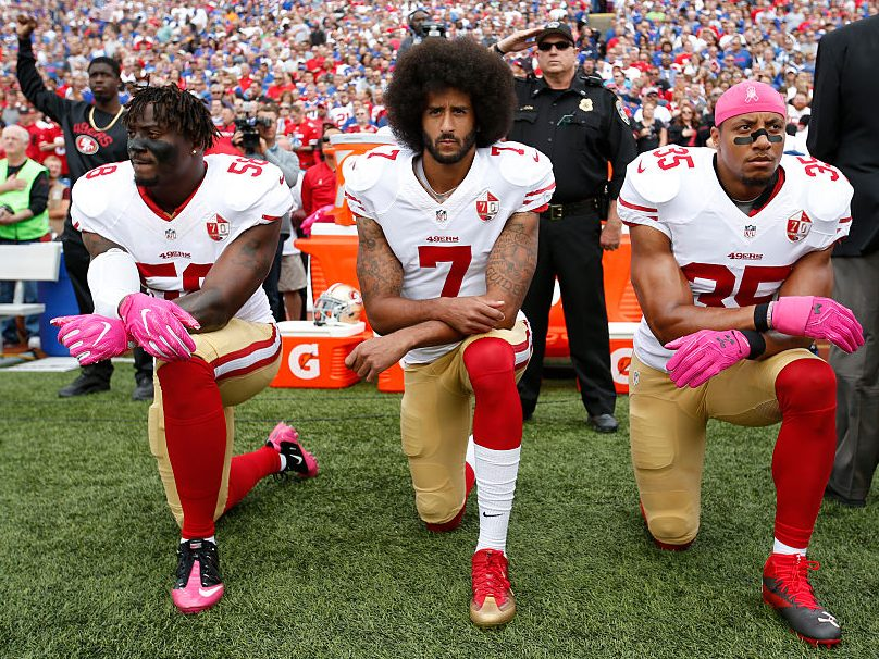 Four Years After Colin Kaepernick Kneeled, NFL Quarterbacks Are ...