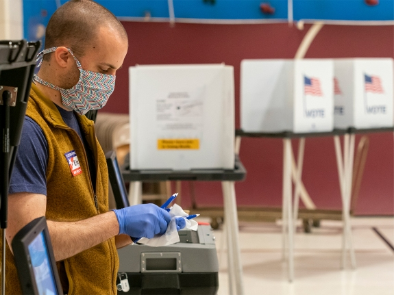 Wisconsin Election Proceeds Despite Stay-At-Home Order During Coronavirus Pandemic