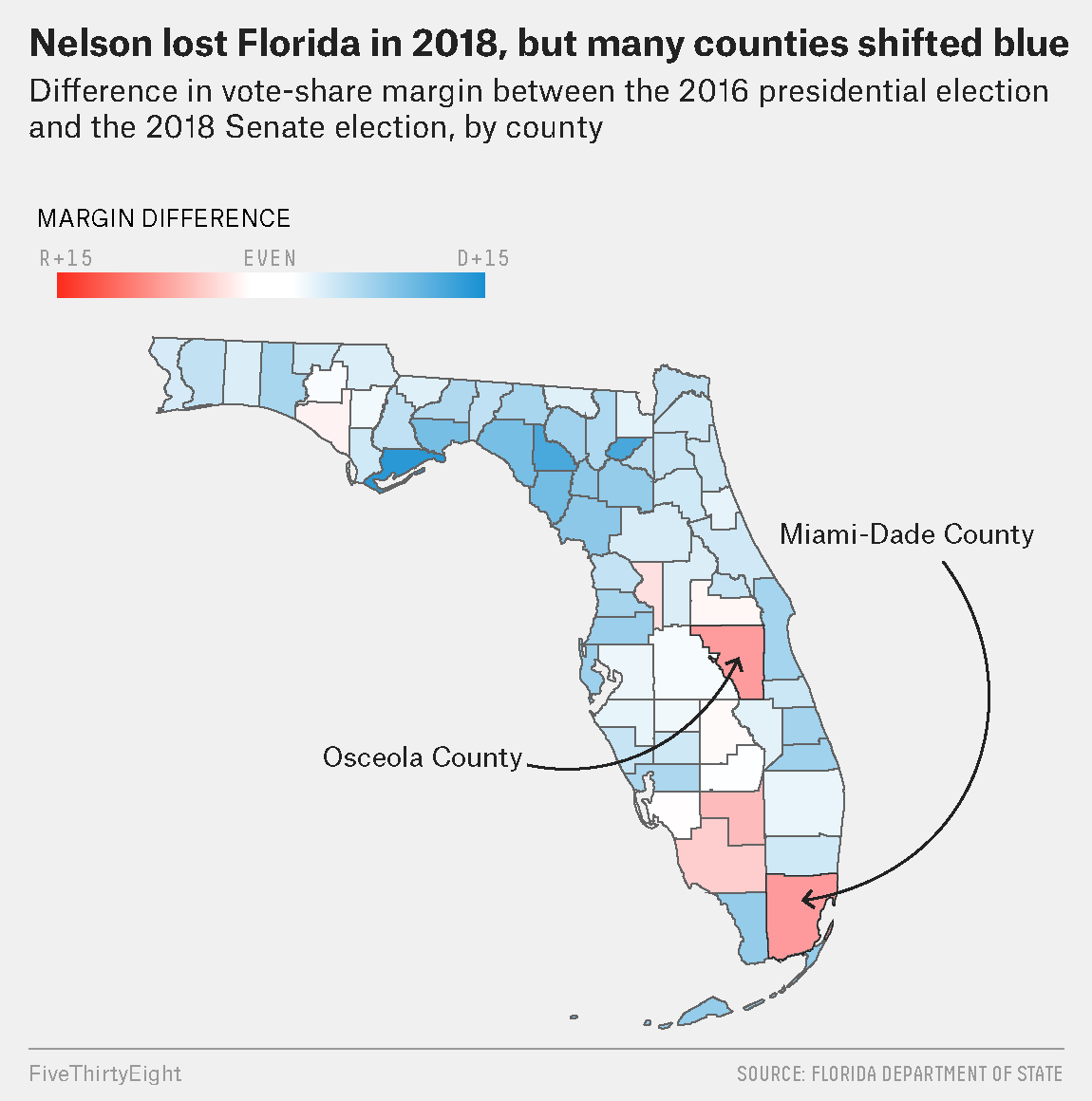 Picture of: Why Florida Could Go Blue In 2020 Fivethirtyeight