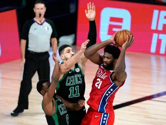 Philadelphia 76ers v Boston Celtics – Game One