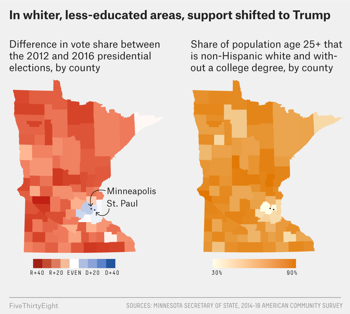 Image of: Why Minnesota Could Be The Next Midwestern State To Go Red Fivethirtyeight