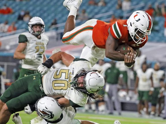 UAB Miami Football