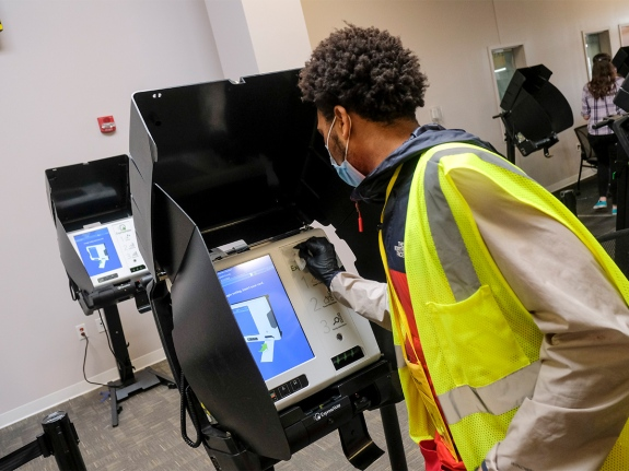 Ohio Holds Limited In-Person Voting On Primary Day During COVID-19 Pandemic