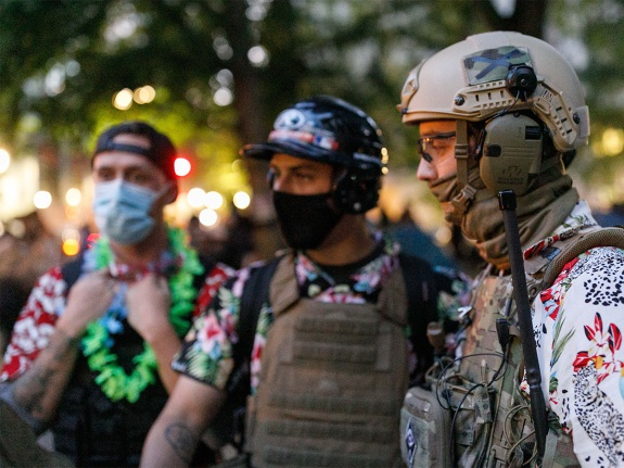 Protest in Portland