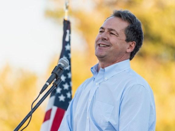 Montana Governor Steve Bullock Campaigns For Senate