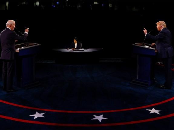 Final U.S. Presidential Debate Between President Trump And Democratic Candidate Joe Biden