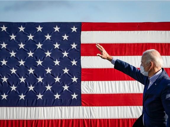 Joe Biden Campaigns For President In Pennsylvania