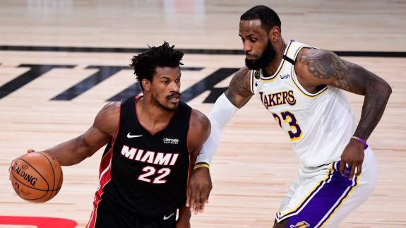 Jimmy Butler Outplayed LeBron James And Bought Miami Some Breathing Room