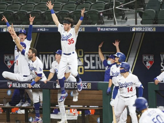 World Series – Tampa Bay Rays v Los Angeles Dodgers  – Game Six