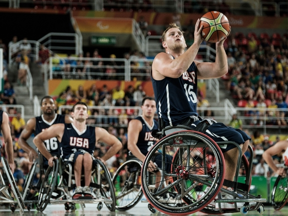 WHEELCHAIR BASKETBALL-OLY-2016-PARALYMPIC