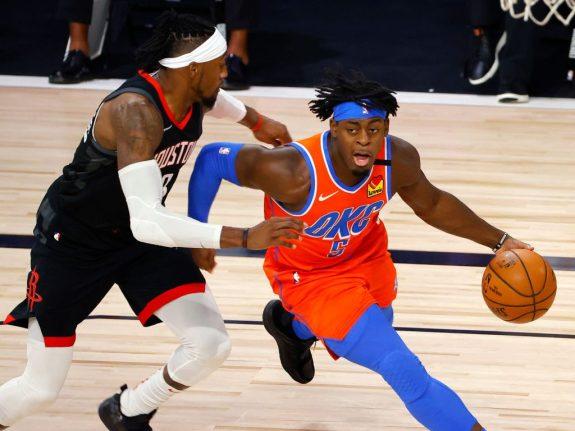 Oklahoma City Thunder v Houston Rockets – Game Five